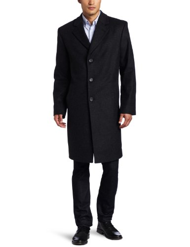 Images for Michael Kors Men's Madison Top Coat, Charcoal, 38 Regular