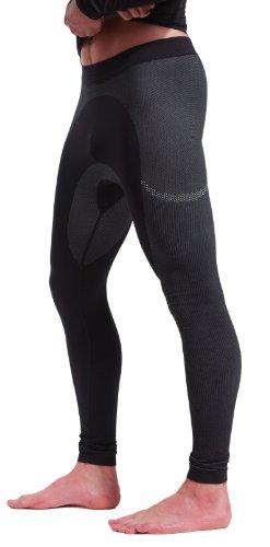 Nebulus Thermounterwäsche Body-Fit, HOSE, Skiunterwäsche, Herren, lang, schwarz (Q109)