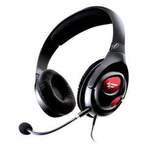 【並行輸入品】Creative クリエイティブ Labs, Fatal1ty Gaming Headset (Catalog Category: Headphone ヘッドフォン / Headset & Mic Combos)