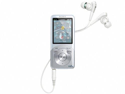 SONY ウォークマン Sシリーズ <メモリータイプ> 32GB ホワイト NW-S756/W