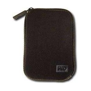 Western Digital Neoprene Carrying Case for My Passport Portable Drives - Black (WDBABH0000NBK-NRSN)