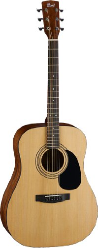Cort  AD810 Dreadnought Acoustic Guitar, Natural Satin