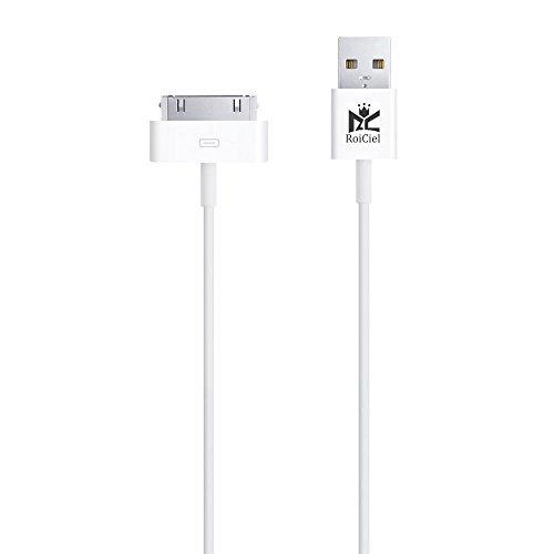 【Roiciel】iphone4/4s/ipad対応高品質30pin Lightning - USBケーブル 1.0m(株)Roiciel 品質保障致します