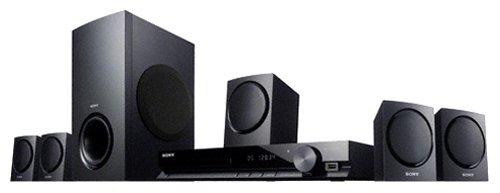 Sony DAV-TZ135 DVD-Heimkinosystem (HDMI, 1080p Upscaling, USB) schwarz