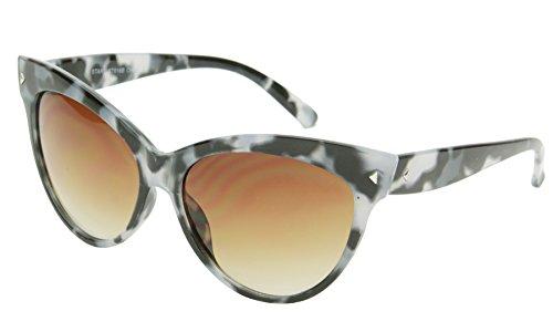 SunDanze Vintage Fashion Cat Eye Gradient Lens Pointed Sunglasses For Women