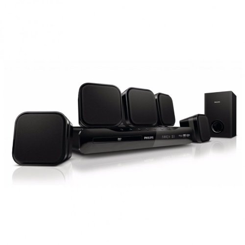 Philips HTS2500 Home Cinema 5.1 Total RMS 300W / MP3/ JPEG/ DVD-R/RW DVD+R/RW CD-R/RW/ USB 2.0/ Scart/ FM/ Stereo/ Dolby Digital