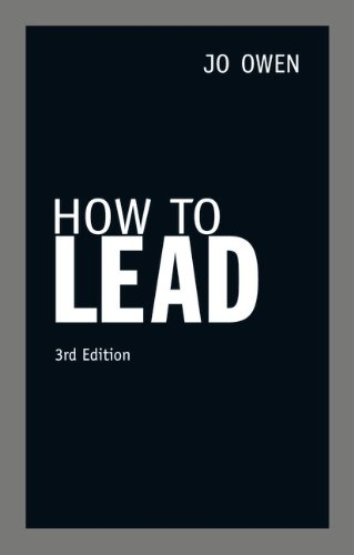 How to Lead (3rd Edition)