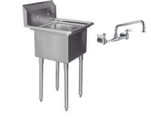 one compartment 1 stainless steel utility prep mop sink 22 x 20 with faucet by amgood check price bulatzxzirogov