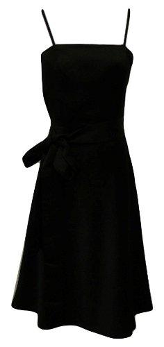 Corsagenkleid in schwarz mit Schleife von Laura Scott Evening