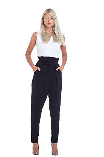 Abbino-3396-Einteiler-Damen-Jumpsuits-Made-in-Italy-Damenjumpsuits-Lang-Sommer-Herbst-V-Auschnitt-Aermellos-Unifarben-Sale-Elegant-Festlich-Sexy-Feminin-Regular-Fit-Freizeit-Casual-2-Farben