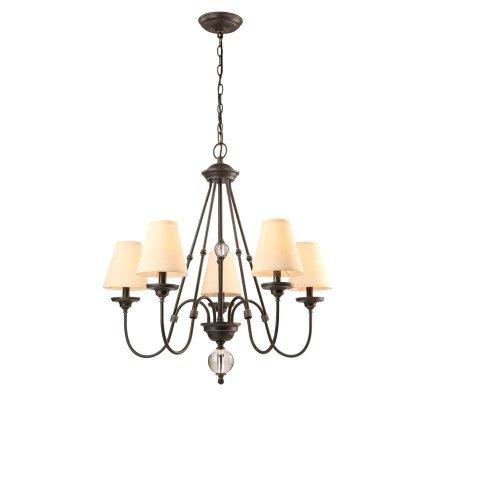 cheap compare reviews hampton bay bienville collection 5 light bronze chandelier amazing get deals
