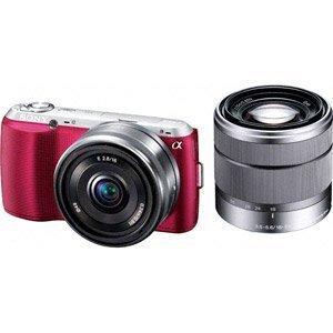 SONY デジタル一眼カメラ α NEX-C3 ダブルレンズキット ピンク NEX-C3D/P
