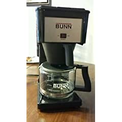 Bunn-O-Matic GRX-B 10-Cup Black Professional Bunn Coffee Brewer