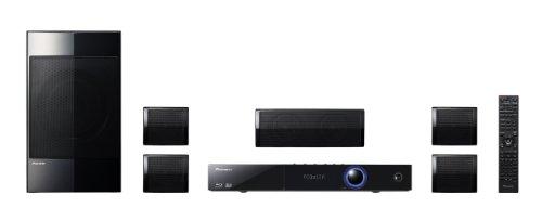 Pioneer BCS-222 5.1 Blu-ray Heimkinosystem (HDMI, DLNA, USB 2.0, neues Lautsprecher-Design, Karaoke-Funktion) schwarz