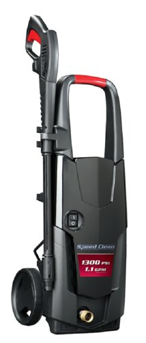 Briggs & Stratton Speed Clean Electric Pressure Washer with 19-Ft Hose and Turbo Nozzle Wand