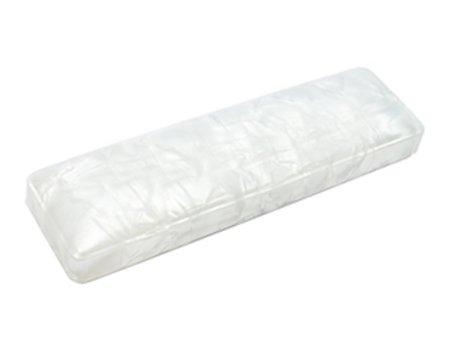 セルロイド製 ペンケース (筆箱) Lサイズ ホワイト