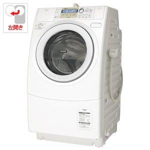 アクア 9.0kg ドラム式洗濯乾燥機【左開き】ホワイトAQUA エアウォッシュα AQW-DJ6100-L-W