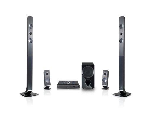 LG HX966PZ 3D 5.1 Heimkinosystem (Smart TV, HDMI, Upscaler 1080p, DivX-zertifiziert, Apple iPod Dock, USB 2.0) schwarz