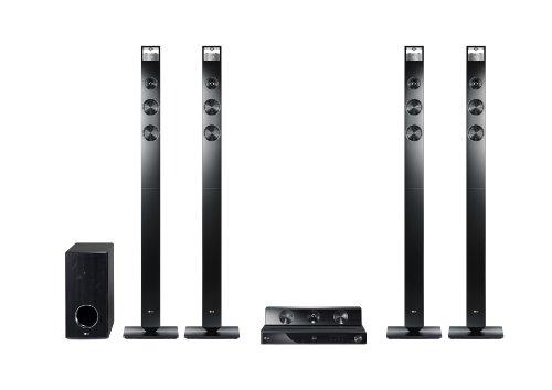 LG HX906TX 3D 9.1 Heimkinosystem (Smart TV, DLNA-zertifiziert, Apple iPod Dock) schwarz