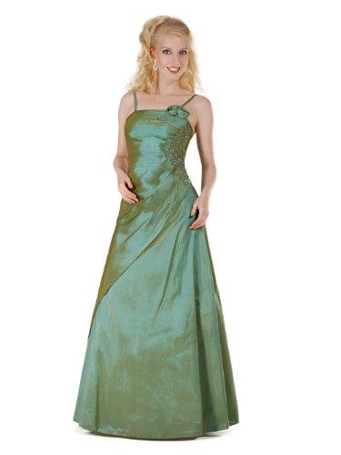 Envie/Paris - 1009 SOPHIA Abendkleid Ballkleid 1-teilig in Grün Gr.38 / 140cm