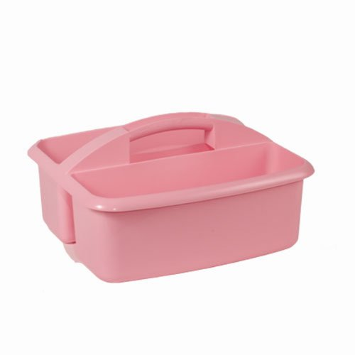 Caddies Stores Utility Caddy Large Pink Supplies Bucket