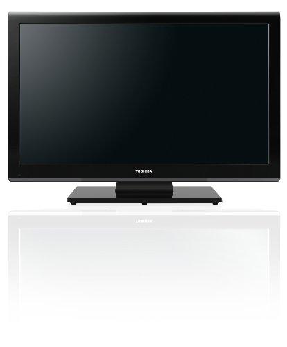 Toshiba 23DL933G 58 cm (23 Zoll) LED-Backlight-Fernseher, Energieeffizienzklasse A (Full-HD, 100Hz AMR, DVB-T/-C, CI+, DVD-Player) schwarz