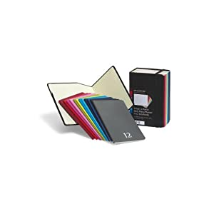 Moleskine 2012 12 Month Color A Month Daily Planner: Set of 12 Monthly Planners