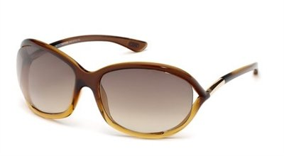TOM FORD TF 0008 Sunglasses 50F Brown Gradient Brown 61-16-120