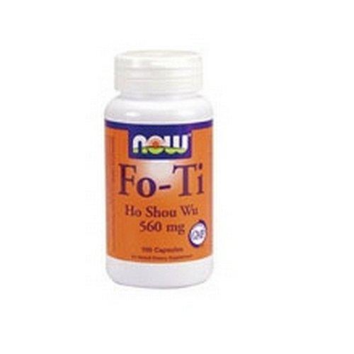 NOW Foods Fo-Ti,  Ho Shou Wu, 560mg, 100 Capsules