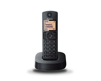 Panasonic KX-TGC310SPB - Teléfono inalámbrico digital (DECT Single, identificación de llamada entrante),...