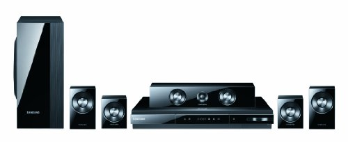 Samsung HT-D5100 5.1 3D-Blu-ray-Heimkinosystem (USB, iPod-Steuerung) perlschwarz