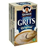 Quaker, Instant Grits, Original, 12 Count, 12oz Box (Pack of 3)