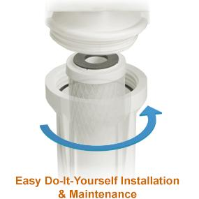 Easy Do-It-Yourself Installation & Maintenance.