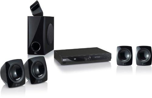 LG HT306SF 5.1 DVD Heimkinosystem (4 Satelliten-LSP, USB 2.0) schwarz