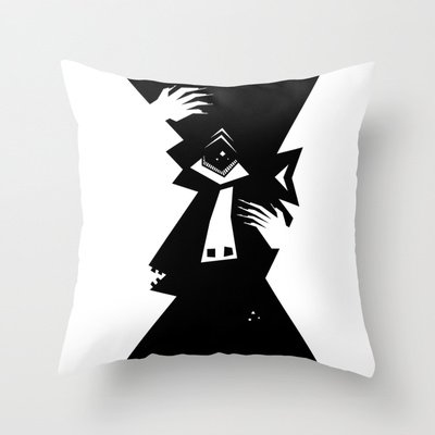 Cyclops Throw Pillow by 5wingerone