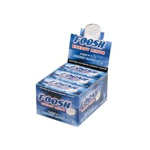 Foosh Caffeinated Energy Mints