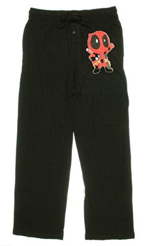 Marvel Deadpool Chibi Guys Pajama Pants