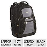 Targus Drifter II Backpack Designed for 17-Inch Laptop TSB239US (Black/Gray)