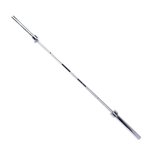 CAP Barbell Olympic 2-Inch ECO Chrome Bar, 7-Feet