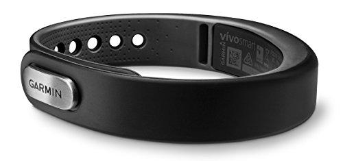 Garmin Vivosmart - Black Bundle (Large) (Includes Heart Rate Monitor)