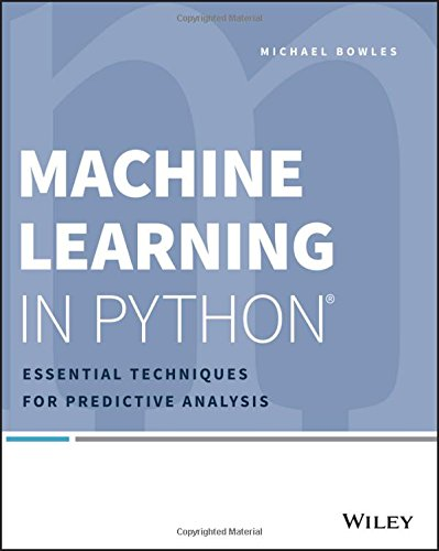 1118961749 – Machine Learning in Python: Essential Techniques for Predictive Analysis