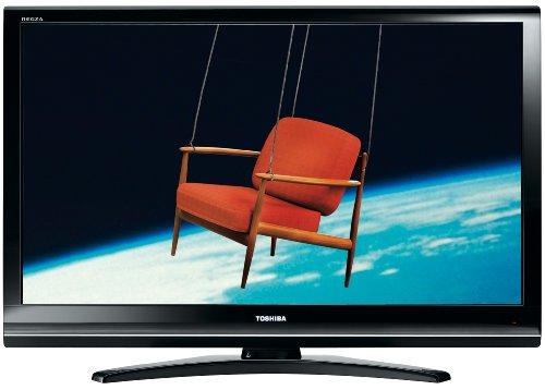 Toshiba 42 XV 635 D 106,7 cm (42 Zoll), Full HD, 100 Hz, Resolution+, LCD-Fernseher mit integriertem DVB-T / DVB-C Tuner schwarz