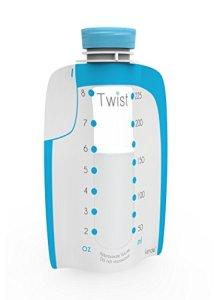 Twist-Pouches-Direct-pump-Twist-cap-Breastmilk-Storage-Bags-includes-caps