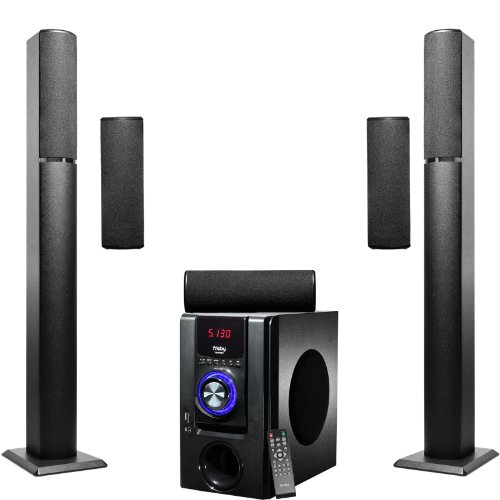 1 surround sound tower home theater speakers system,frisby fs-6700bt 5,bluetooth usb/sd,video review,remote,(VIDEO Review) Frisby FS-6700BT 5.1 Surround Sound Tower Home Theater Speakers System with Bluetooth USB/SD and Remote,