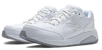 New Balance Men's MW928 Walking Shoe,White,14 2E US
