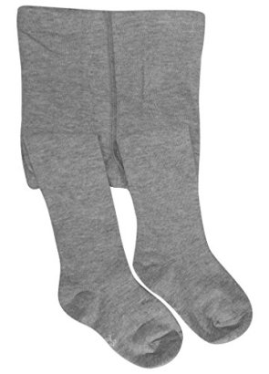 BEAR-MUMl-Baby-Girls-Seamless-Organic-Cotton-Tights-Grey-1-2Year