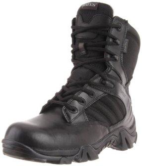 Bates Men's GX-8 8 Inch Ultra-Lites GTX Waterproof Boot, Black, 9.5 XW US