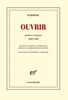 Livres Couvertures de Ouvrir. Poèmes Et Proses 1929 1996