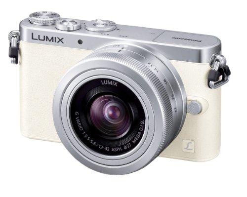 Panasonic デジタル一眼カメラ ルミックス GM1 レンズキット 標準ズームレンズ付属 ホワイト DMC-GM1K-W