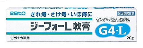 【指定第2類医薬品】ジーフォーL軟膏 20g